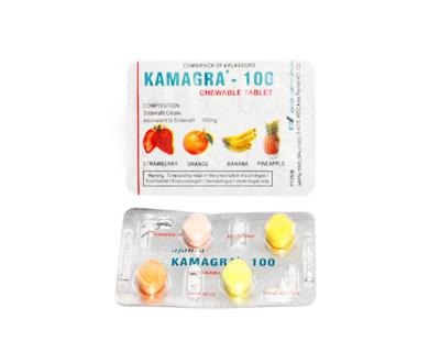 Kamagra Chewable 100 mg Soft Tabs